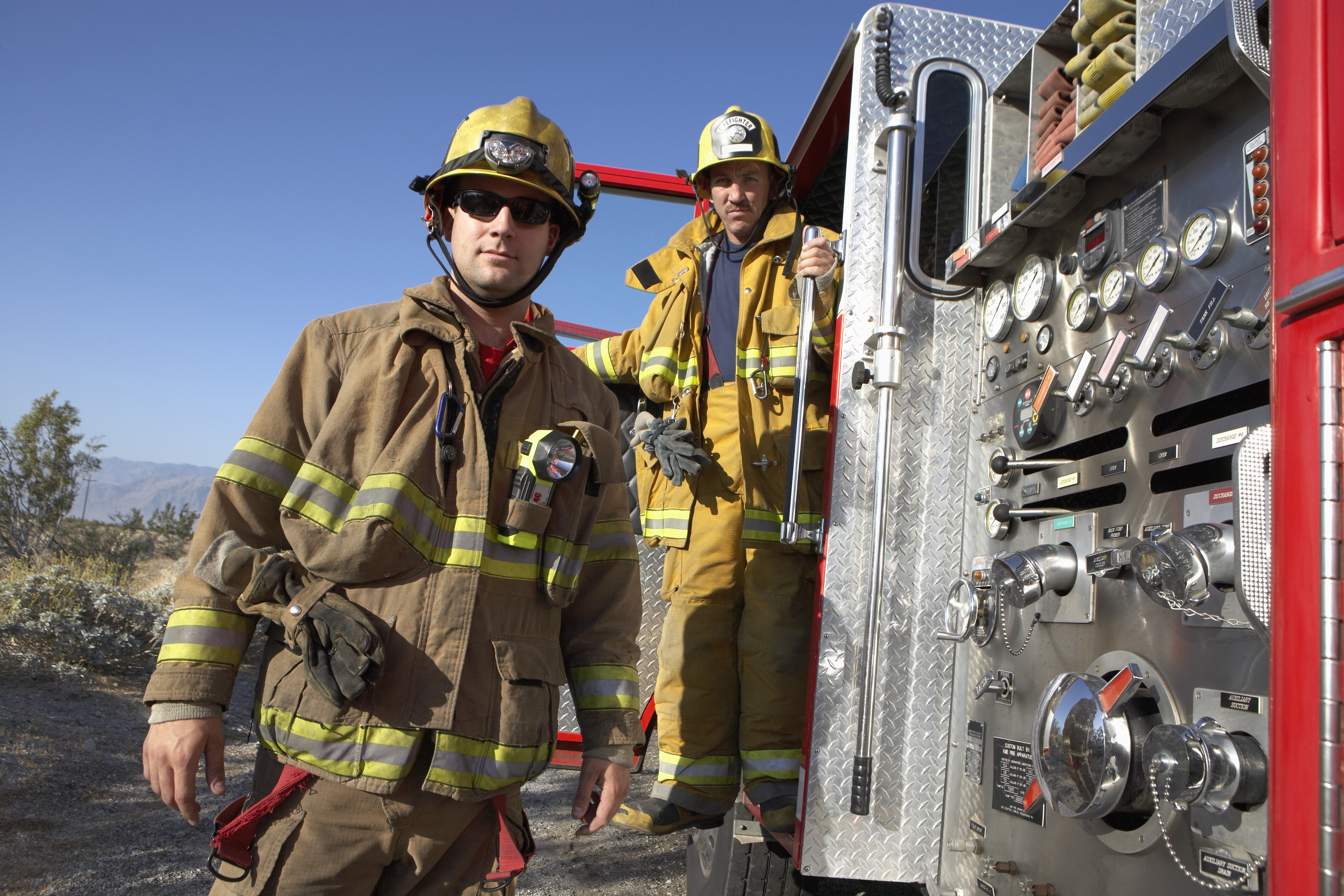 Color Blind Firefighters Color Vision Correction